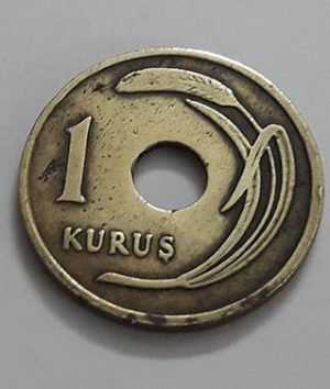 Old Turkish Collectible Foreign Coin Very Rare Design 1949 ااا