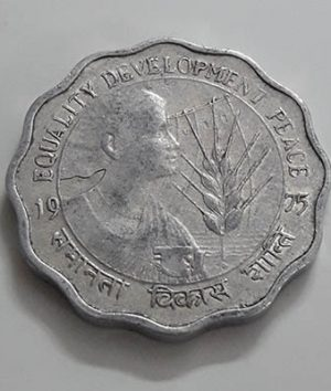 Foreign commemorative coin of India bbh