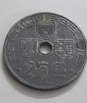 Belgium 1946 Collectible Coin Unit 25 ffff