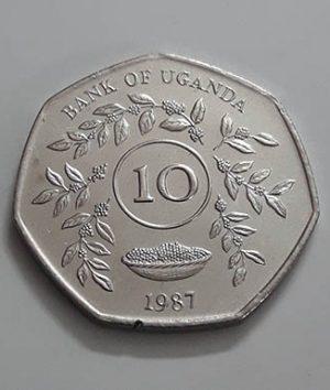 A very rare and exhilarating collectible coin of the rare Ugandan brigade