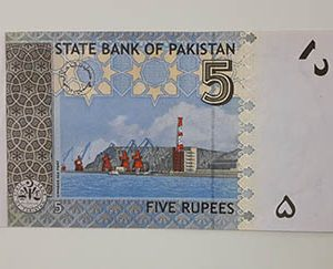 Pakistani collectible banknotes beautiful design y7777
