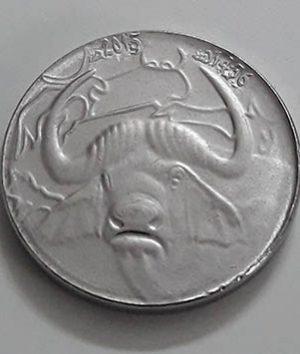 Rare Algerian cow design collectible coin q12 fd
