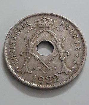 Belgium Foreign Collectible Coin 1927 Unit 25 bgttt