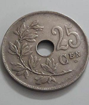 Belgium Foreign Collectible Coin 1927 Unit 25