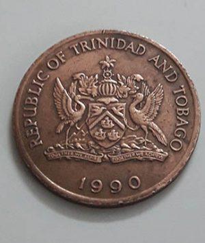 Very rare collector coins Trinidad and Tobago beautiful design nhy777