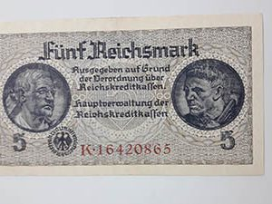 Foreign collectible banknotes of very beautiful German design adfghj y