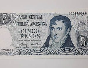 Foreign collectible banknotes of beautiful design Argentina hhhhh