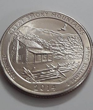 US National Park Quarter Commemorative Collectible Coin ggg
