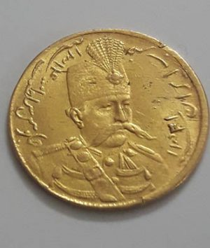 Extraordinary and valuable collection gold coins of Mozaffaruddin Shah Qajar, beautiful and eye-catching