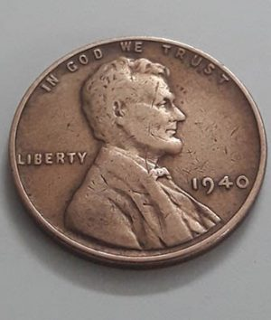 Coins A traditional American Lincoln 1940 collectible nhhh