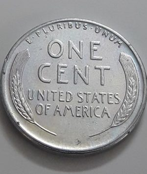 A foreign coin of a traditional Lincoln country of 1943 D-swa
