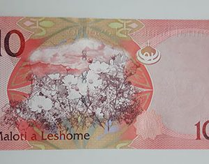 Extremely rare collection of Lesotho foreign banknotes (bank quality)-pas