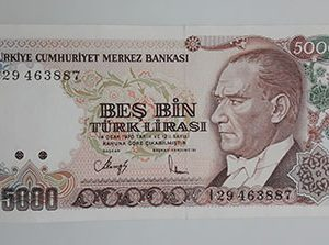 Extra Rare Collectible Foreign Banknotes of Turkey 1970 (Banking Quality)-poi
