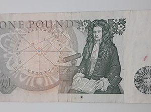Extra Rare Collectible Foreign Banknotes پ 1 British Country Picture of the Crowned Queen-tyu