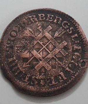 Swedish Error Collectible Foreign Coin 1765-dgg