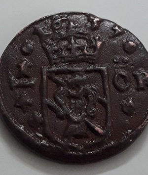 Swedish Museum Collectible Foreign Coin 1637 (Excellent Quality)-gdd