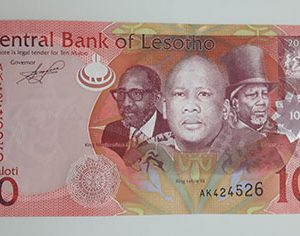 Extremely rare collection of Lesotho foreign banknotes (bank quality)-sap