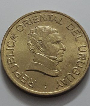 Collectible foreign currency of Uruguay, unit 1, 2005-bcc