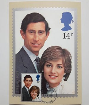 Beautiful foreign postcard design of 1981-qwe
