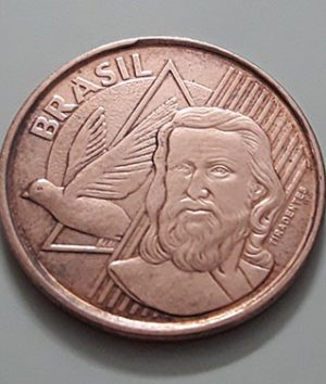 Collectible foreign coins of Brazil, beautiful design in 2013-qwp
