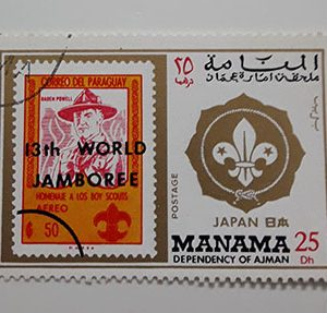 Foreign stamp of a very beautiful design of Oman-app