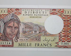 Extraordinary and valuable collection of foreign banknotes in Djibouti-all