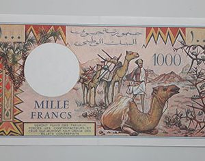 Extraordinary and valuable collection of foreign banknotes in Djibouti-lal