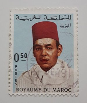 Foreign stamps of the beautiful design of the Maghreb country-axx