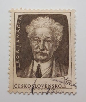 Very rare foreign stamp of Czechoslovakia (ancient)-acc