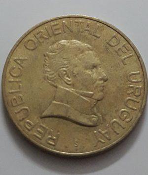 Uruguay Collectible Foreign Coin Unit 2 2007-bvv