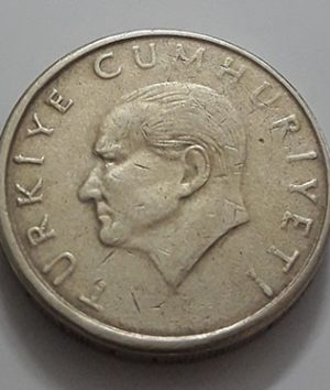Foreign currency of Turkey, unit 10, 1996-xcx