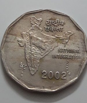 Foreign currency of India in 2002-cvv