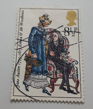 British collectible foreign stamp with very beautiful design-dww