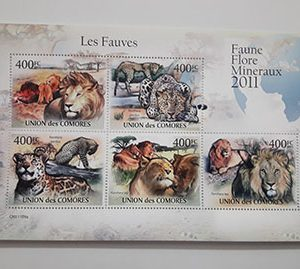 Very beautiful foreign stamp sheet of 2011-dee