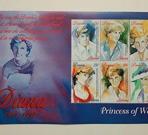 Very beautiful 1997 foreign stamp sheet-dtt