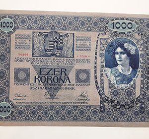 Austria large size collectible foreign banknote 1902 (bank quality)-dgg