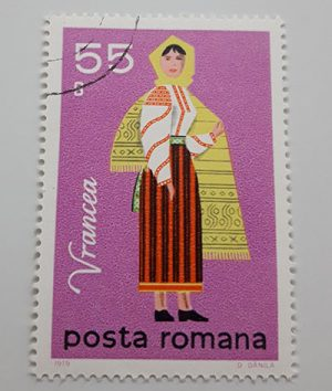 Collectible foreign stamp of Romania-eoo