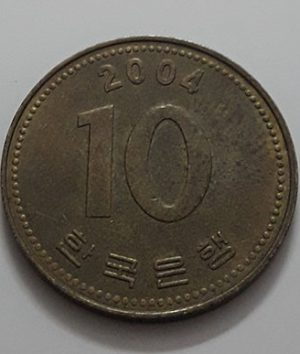 Foreign currency of South Korea in 2004-tft