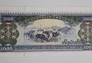 Collectible foreign banknote of Sri Lanka in 2003-xgx