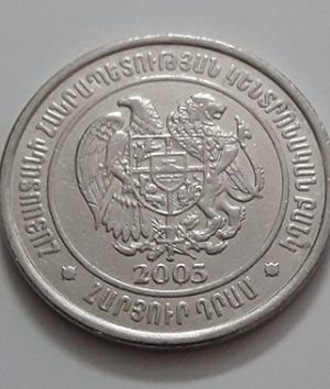 Foreign currency of Armenia 2003-hff