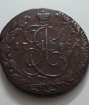 Russia large size collectible foreign coin 1781 (weight 50 g)-lil