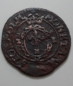 A rare and rarely seen foreign collectible coin and museum in Sweden, over 400 years old-bib