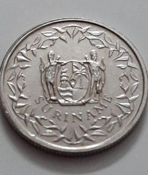 Suriname Country Collectible Foreign Coin Rare Type 10 Unit 2014-joo