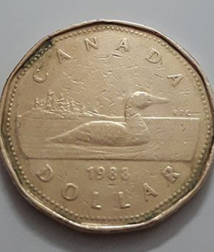 Canadian $ 1 Collectible Foreign Coin Queen of the Year 1983-jll