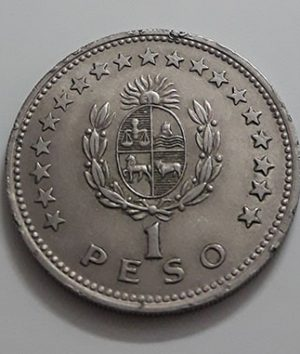 Collectible foreign coins of the beautiful design of Uruguay in 1960-pta