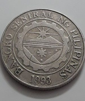 1998 Philippine Collectible Foreign Coin-ray