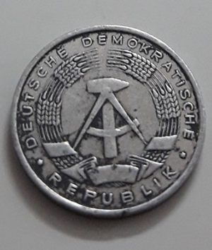Collectible foreign coin 1 Fanig East Germany 1960-ayu