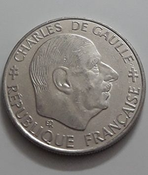 Foreign commemorative collectible coin of France, new type, 1988-ayi