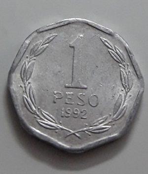 1992 Chilean Collectible Foreign Coin-xai