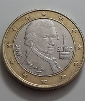 Euro 1 1x Collectible Foreign Collectible Coin of the European Union, 2002-aor